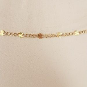 "Jewelry - 2 5mm 14k Yellow gold Stamped Figaro 24"" Chain"